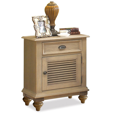 Image of Shutter Door Nightstand