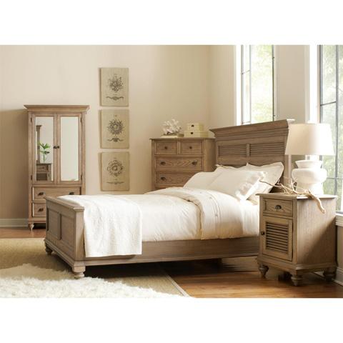 Riverside Furniture - Queen Panel Shutter Bed - 32474