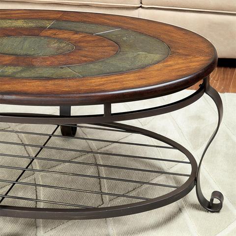 Riverside Furniture - Oval Coffee Table - 54702