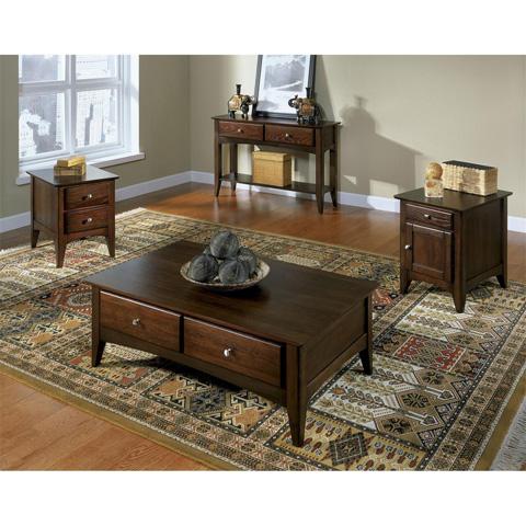 Riverside Furniture - Storage Coffee Table - 66002