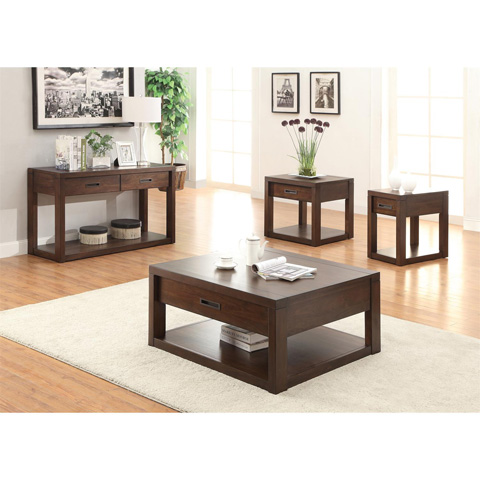 Riverside Furniture - Chairside Table - 75812