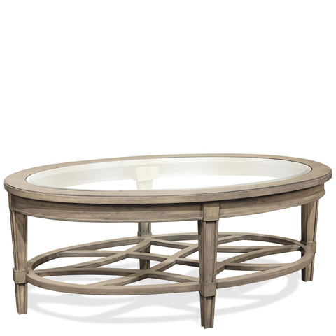 Riverside Furniture - Oval Coffee Table - 15501