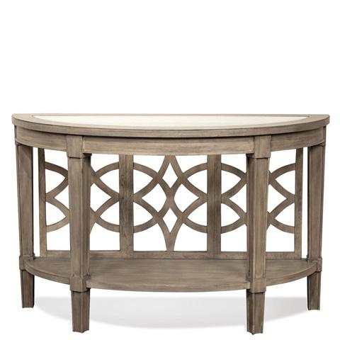 Riverside Furniture - Demilune Sofa Table - 15514