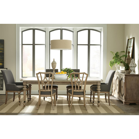 Riverside Furniture - Upholstered Diamond Back Side Chair - 21559