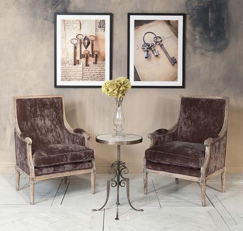Sarreid Ltd. - Orleans Salon Chair - 28853