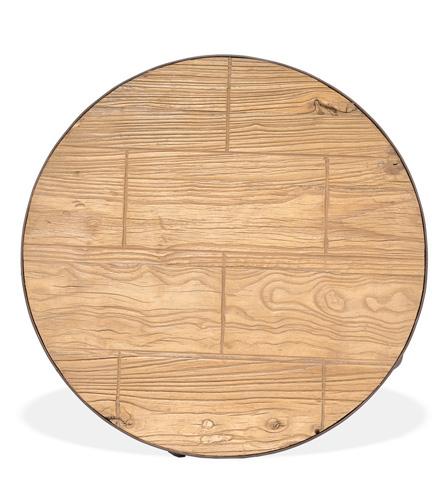 Sarreid Ltd. - Rush To The Finish Drum Table - 29833