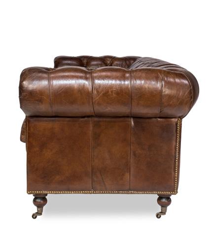 Sarreid Ltd. - Castered Chesterfield Sofa - 29893