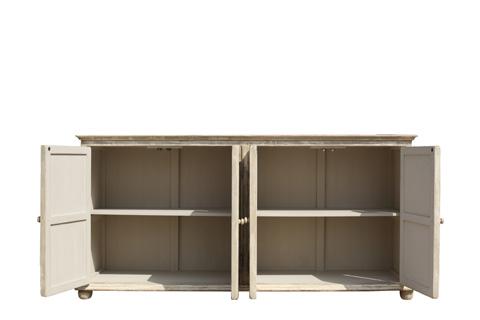 Sarreid Ltd. - Pie Crust Door Front Cabinet - 29939