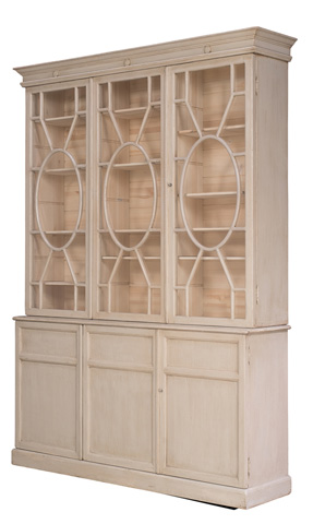 Sarreid Ltd. - Tall Nedra Bookcase - 29942