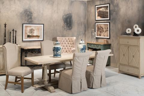 Sarreid Ltd. - Petit Palais Hall Table - 29982