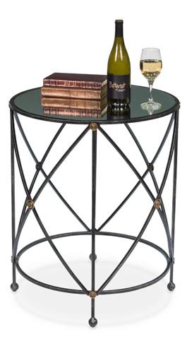 Sarreid Ltd. - Drum & Fife Lamp Table - 30259