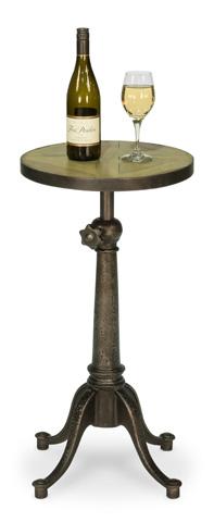 Sarreid Ltd. - Adjustable Iron Bar Bistro Table - 30429