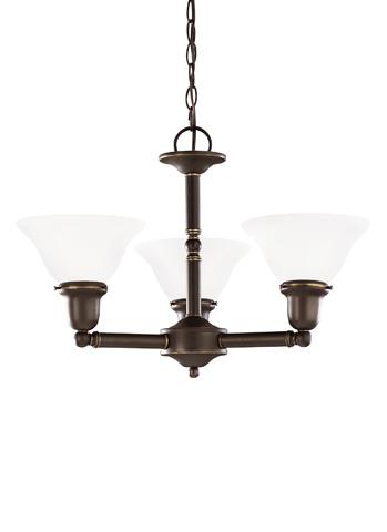 Sea Gull Lighting - Three Light Chandelier - 39061BLE-782