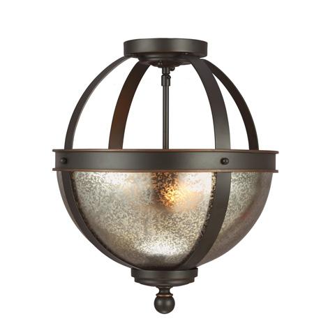 Sea Gull Lighting - Two Light Semi-Flush Convertible Pendant - 7710402-715