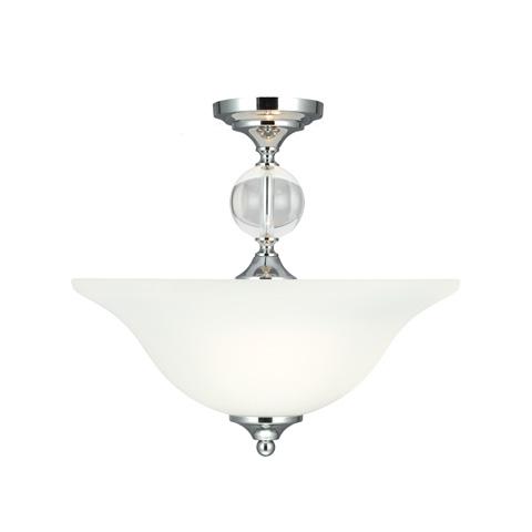 Sea Gull Lighting - Two Light Semi-Flush Convertible Pendant - 7713402-05