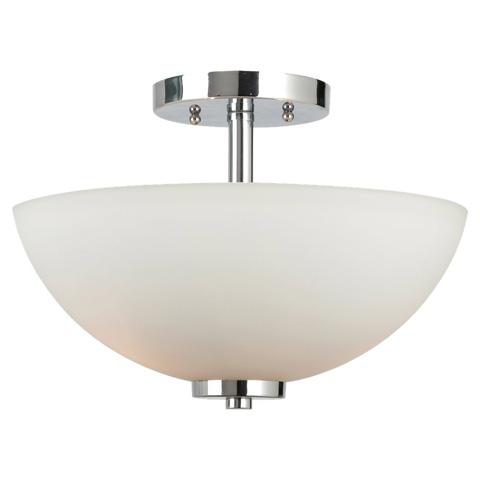 Sea Gull Lighting - Two Light Semi-Flush Convertible Pendant - 77160BLE-05