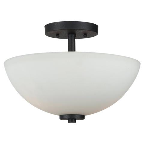 Sea Gull Lighting - Two Light Semi-Flush Convertible Pendant - 77160BLE-839