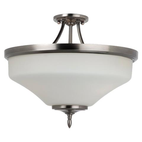 Sea Gull Lighting - Three Light Ceiling Semi-Flush Convertible Pendant - 77180-965