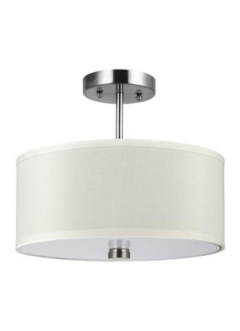 Sea Gull Lighting - Two Light Flush / Semi-Flush Convertible - 77262-962