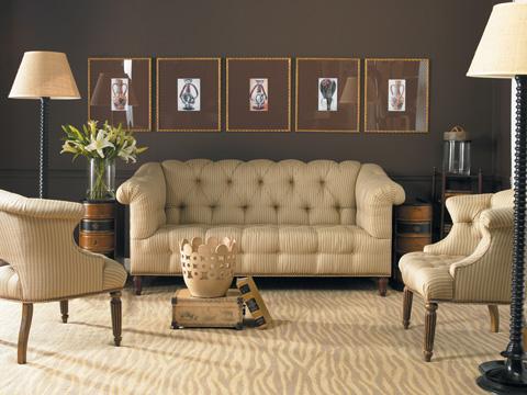 Sherrill Furniture Company - Button-Tufted Sofa - DC44
