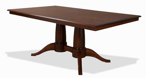 Saloom Furniture - Capital Dining Table - MSWO 4260-1
