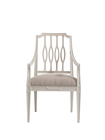 Image of Cooper Upholstered Seat Dining Arm Chair