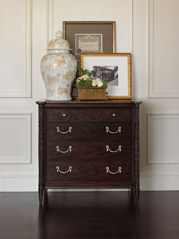 Stanley Furniture - King Charles Four Drawer Bachelor Chest - 302-23-17