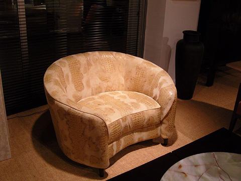 Stone International - Barrel Back Chair - 0867