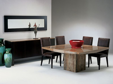 Stone International - Dining Table - 3204