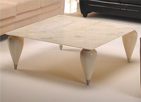 Stone International - Round Cocktail Table - 7021