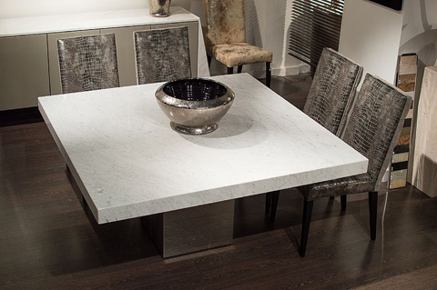 Stone International - Manhattan Square Dining Table - 3266/SQ