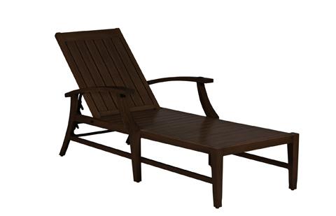 Summer Classics - Croquet Aluminum Chaise Lounge - 3333