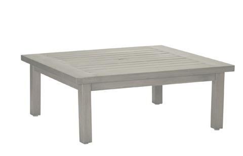 Summer Classics - Club Aluminum Square Coffee Table - 3341