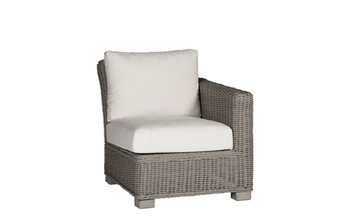 Summer Classics - Rustic Sectional Chair - Right Facing - 3762