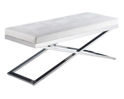 Sunpan Modern Home - Crawford X-Base Bench - 85861