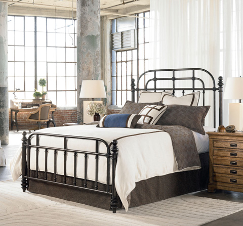 Thomasville Furniture - Pullman Queen Metal Bed - 46419-555
