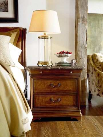 Thomasville Furniture - Nightstand with Stone Top - 46711-811