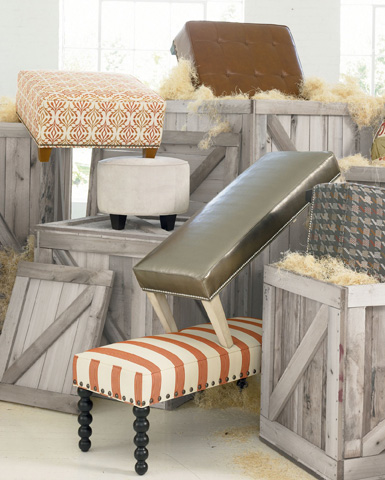 Thomasville Furniture - Cambria Tapered Leg Bench - 1873-18