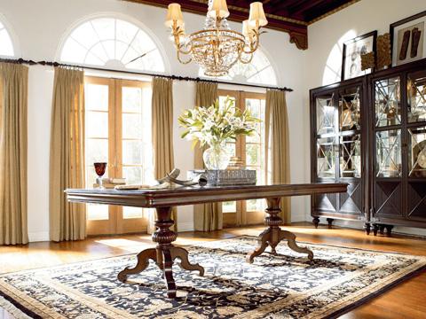 Thomasville Furniture - Castillian Double Pedestal Table - 46221-772