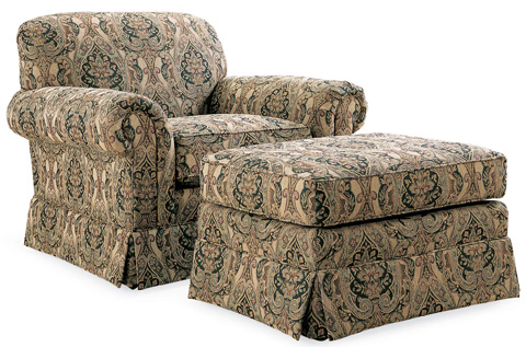 Thomasville Furniture - Lancaster Ottoman - 6026-128