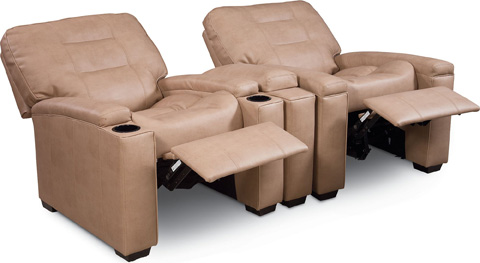 Thomasville Furniture - Latham Media Recliner with Cup Holder - HS1559-15R