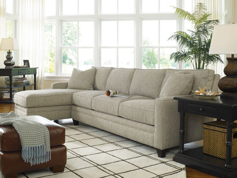 Thomasville Furniture - Mercer Sectional - 1803-SECT