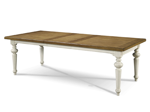 Universal Furniture - Two-Tone Rectangular Dining Table - 987652