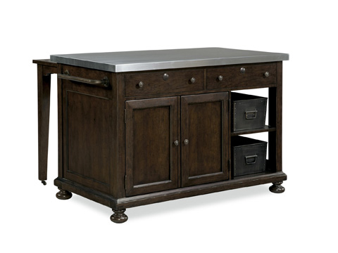 Image of River House Kitchen Island