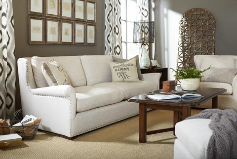 Universal Furniture - Haven Sofa in Belgian Linen - 477501-100