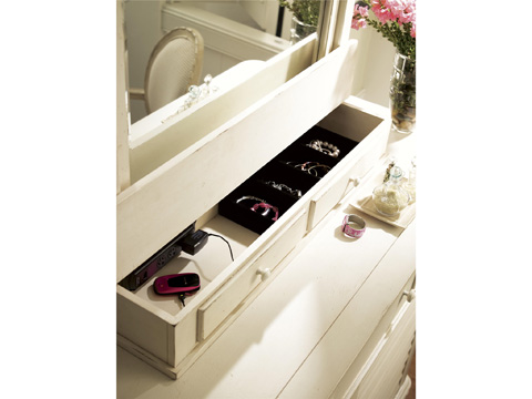 Paula Deen Home - Paula Deen Home The Lady's Storage Mirror - 99603M