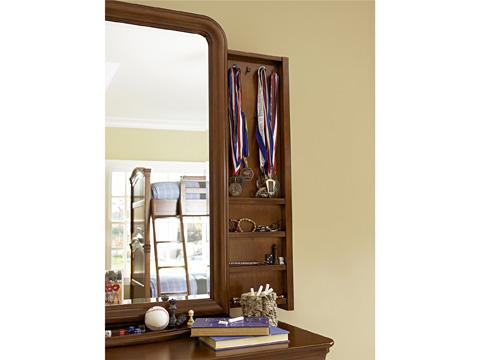 Universal - Smart Stuff - Classics 4.0 Single Dresser with Storage Mirror - 1311001/1311030