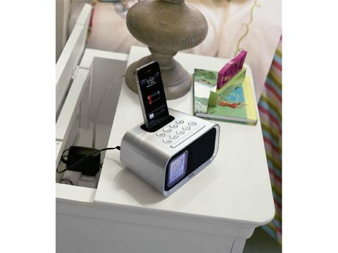 Image of Summer White One Drawer Nightstand