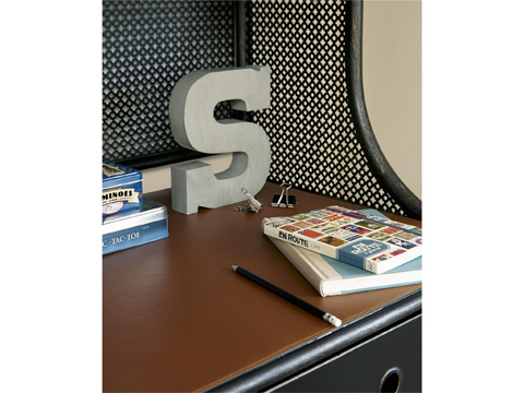 Universal - Smart Stuff - Black and White Metal Desk - 437B019