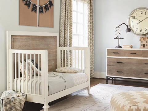 Universal - Smart Stuff - My Room Convertible Crib - 5321310